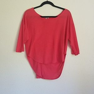 Charlotte Russe Coral Shirt